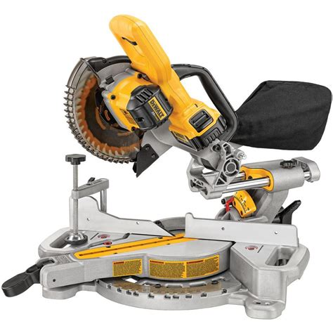 dewalt cordless 20v miter saw spotted at the home depot