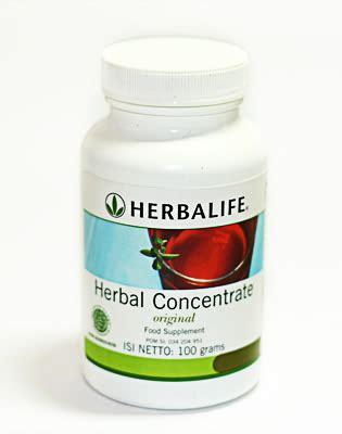 Herbal Nutrisi Herbal Concentrate Nutrisi Sehat Herbalife