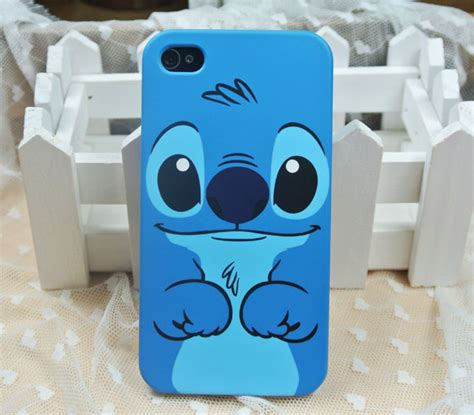 Softcase Back Lucu 3d Stitch Soft Cover Iphone 4 4s 3d stitch back soft silicone for iphone 4 4s we it gift fashion and