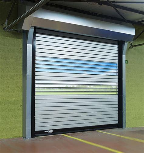 industrial grade and rigid high performance doors