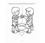 Dibujo Ni&241o Compartiendo Juguetes  Imagui