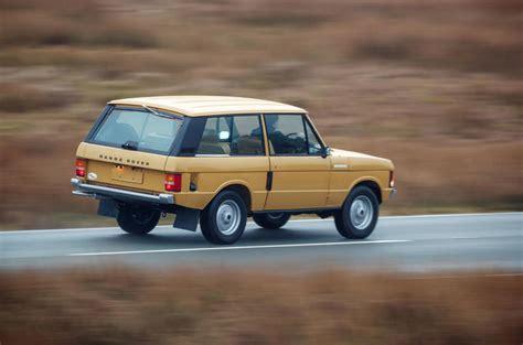 two door range rover 1978 two door range rover revealed as reborn classic