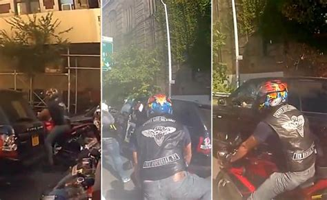 Manhattan Mob Rage Undercover Nypd Officer Arrested And Charged In Motorcycle Road Rage Photos