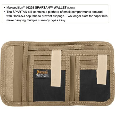 spartan wallet maxpedition spartan wallet for convenient contents