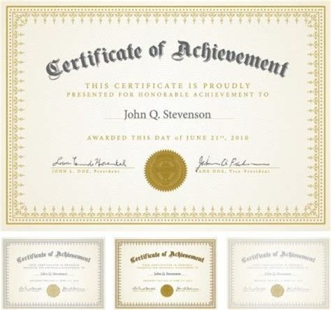 Certificate Templates 7 Lds Young Women Personal Progress Pinterest Certificate Design Personal Certificate Template