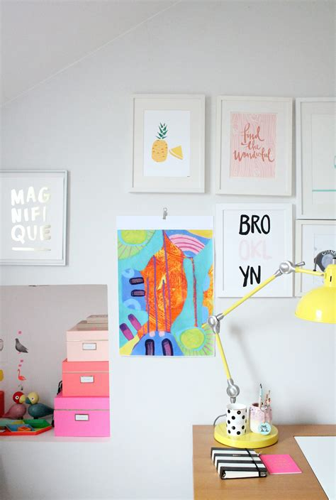 littlebigbell hang a canvas on a wall without hammer and nails littlebigbell so klara talent colour and a good cause