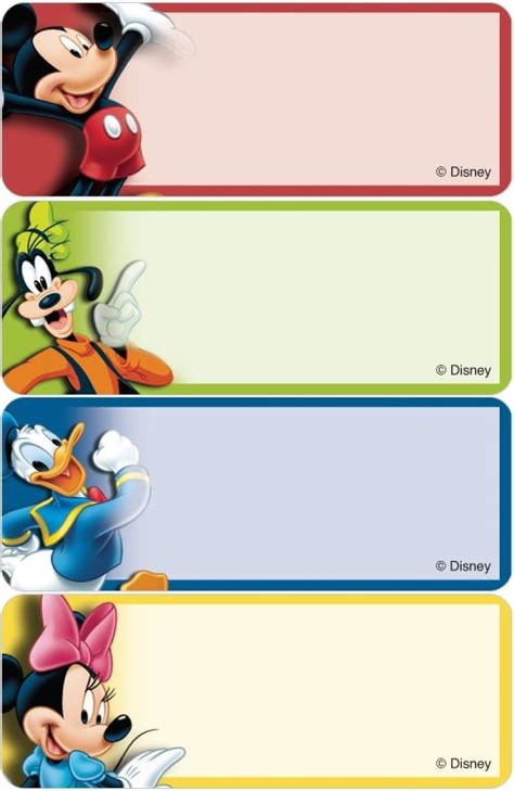 Stiker Label Nama Mickey Mouse 1029 best minnie mickey mouse images on