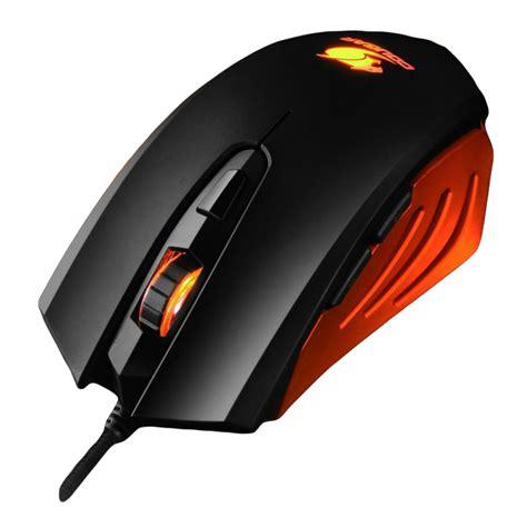 200m gaming mouse black orange 200m black