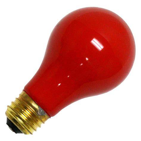 colored light bulbs bulbrite 106760 60a cr standard solid ceramic colored light bulb elightbulbs