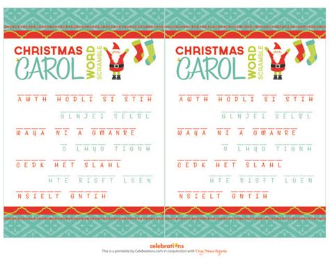 printable christmas scramble games welcome to memespp com