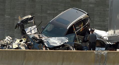 car crash ct the day i 95 reopened after two accidents highway in both directions news from
