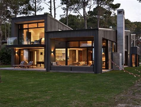 Modern Home Especially Designed for Active Relaxation in