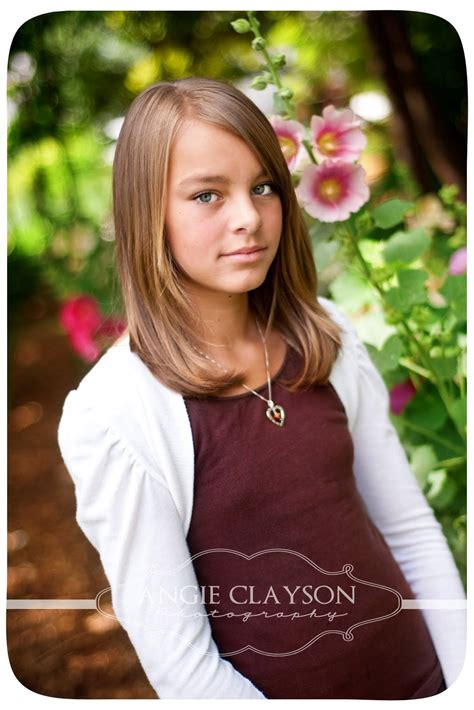 12 old girl angie clayson photo 12 years old