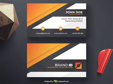 black orange business card template black and orange business cards image collections