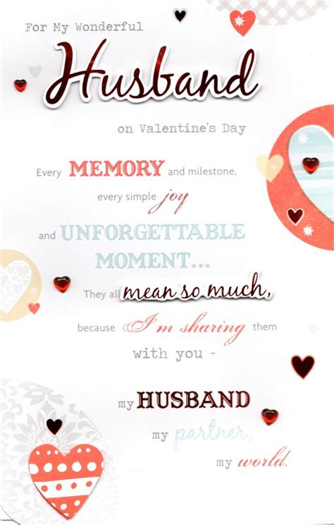 valentines day for husband husband s day greeting card cards kates