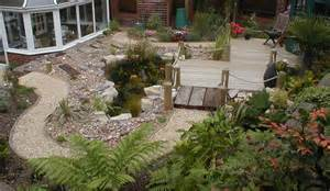 Old Fashioned Kitchen Faucets pebble gardens sloping garden design ideas landscaping