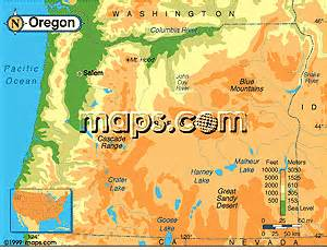 oregon maps