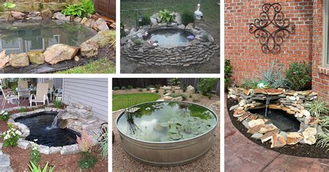 backyard ponds diy 18 best diy backyard pond ideas and designs for 2018
