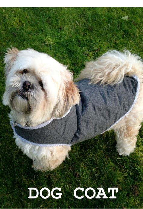 pattern for quilted dog coat quilted dog coat 3 sizes sewing pattern