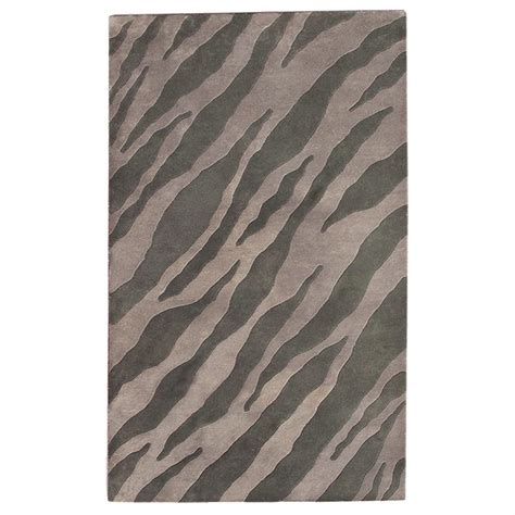 gray zebra rug donnieann 5x8 ariel area rug gray blue zebra design 215325 rugs at sportsman s guide