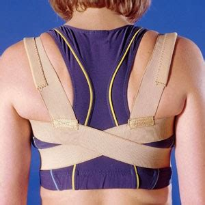 Posture Aid Clavical Brace Oppo 2075 posture aid clavicle brace 2075