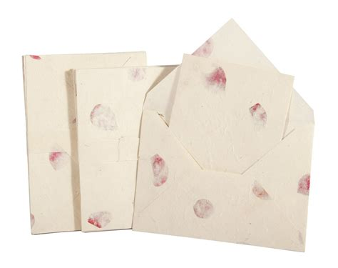 Handmade Stationery Sets - handmade a5 lokta notelet and envelopes anglesey paper