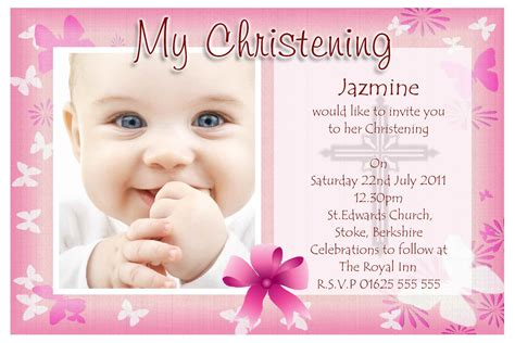 free christening invitation card maker baptism invitation card baptism invitation card maker