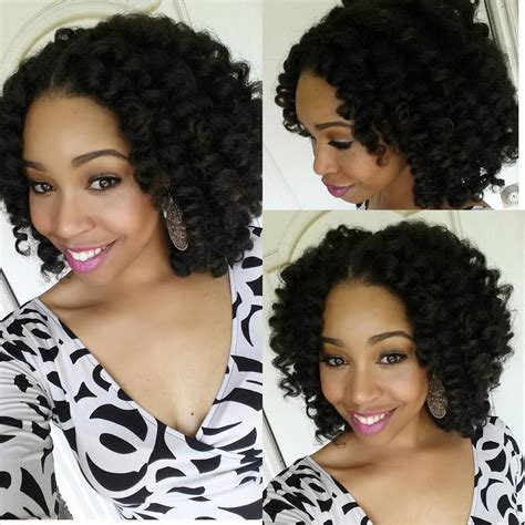 Crochet Natural Hair Styles | crochet braids with marley hair protective style