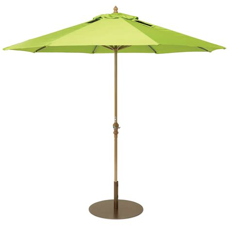 Market Patio Umbrellas Usb Charging Solar Market Umbrella The Green