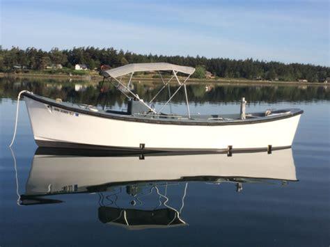 restored  uscg motor surf boat  sale  lopez island