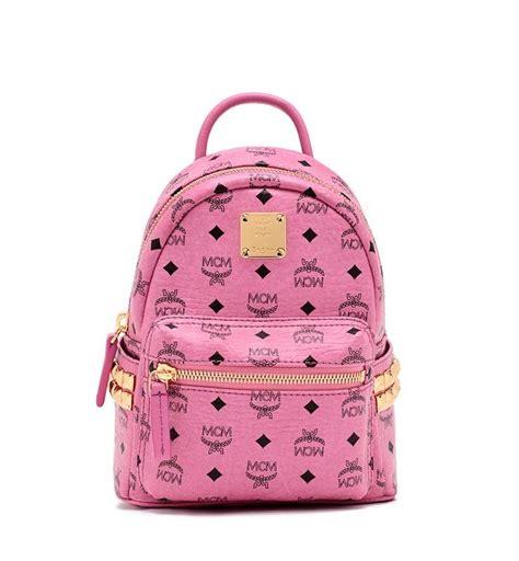 pink backpacking backpack best 25 pink mcm backpack ideas on mcm