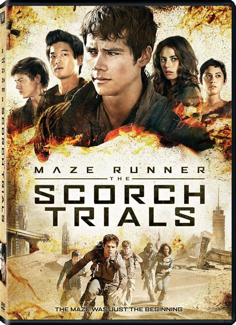film maze runner sequel maze runner 2 scorch trials dvd release date december 15