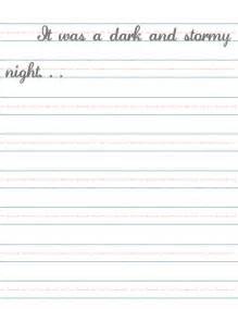Elementary Writing Paper Printable Printable Elementary Handwriting Paper Submited Images