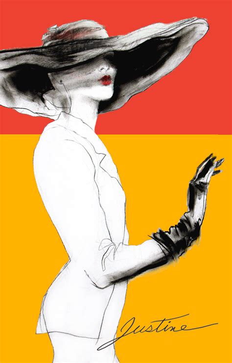 fashion illustration hats drawing fashion hats justine limpus parish s