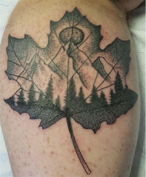 butterfly tattoo halifax 1000 id 233 es sur le th 232 me tatouages de feuille d 233 rable sur