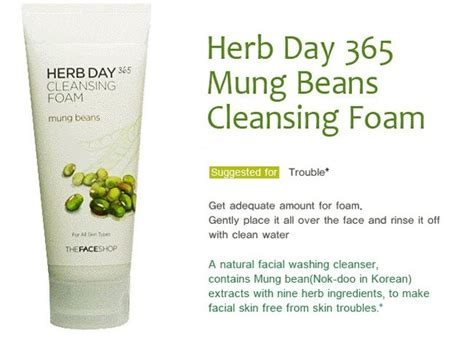 Harga The Shop Herb Day 365 the shop herb day 365 cleansing foam 170ml acerola