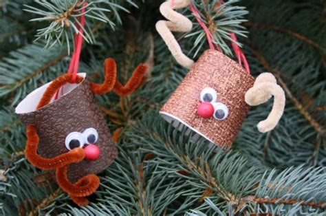 toilet roll reindeer christmas ornaments happy hooligans