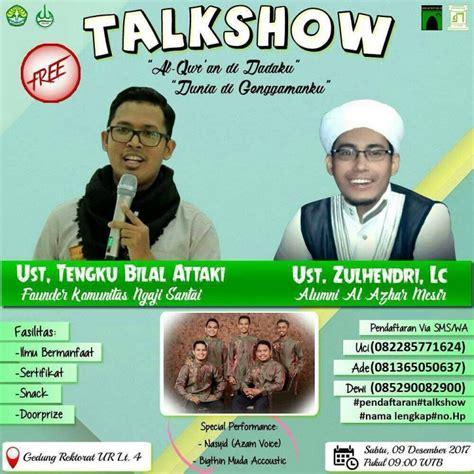 Al Xenza Distributor Di Kota Pekanbaru talkshow al quran di dadaku dunia digenggamanku brosispku info kuliner di kota