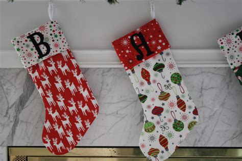 easy pattern for a christmas stocking christmas stockings tutorial sew like my mom
