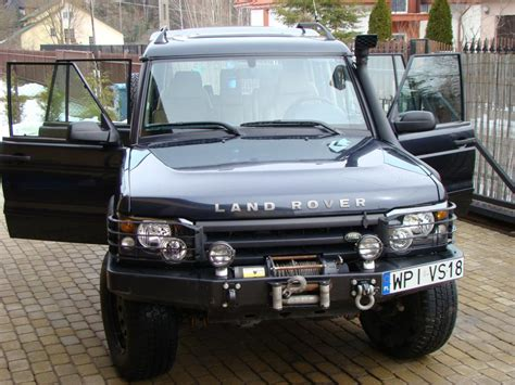 2004 land rover discovery road land rover discovery ii 2 5 td5 road 2004r zdjęcie