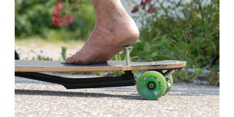 longboard skateboard with brake pogo longboard brake