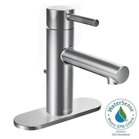 moen brantford single single handle mid arc bathroom