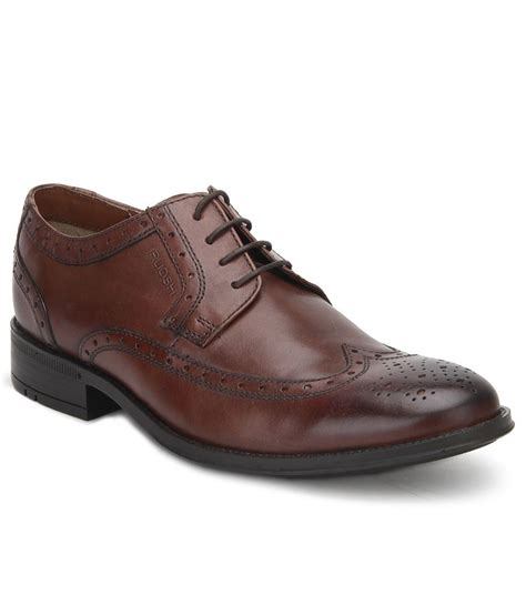 ruosh brown formal shoes price in india buy ruosh brown