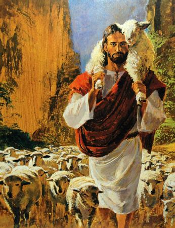 I M Painting A Picture by Richard Hook The Shepherd Centered