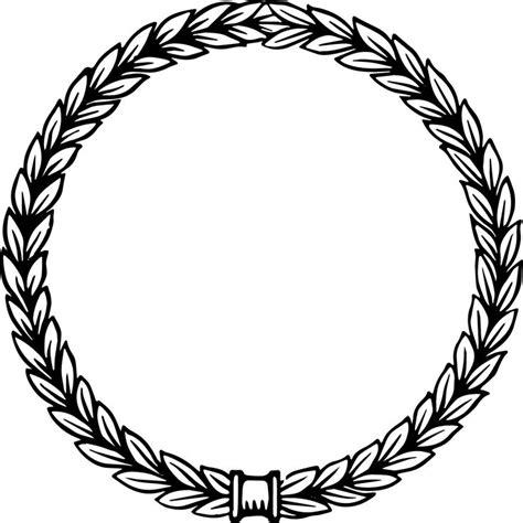 free clipart vector free vector vintage laurel wreath http