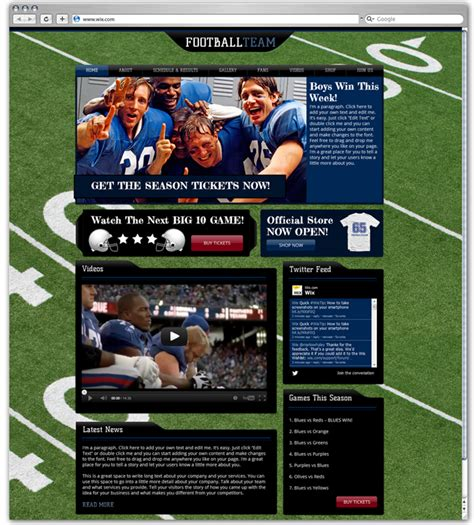 blogger themes sport fit web design beautiful and sporty websites
