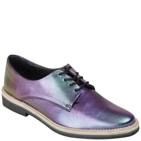 miista s zoe flip paint leather shoes multi free
