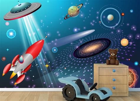outer space wall mural outer space wall mural grafix wall