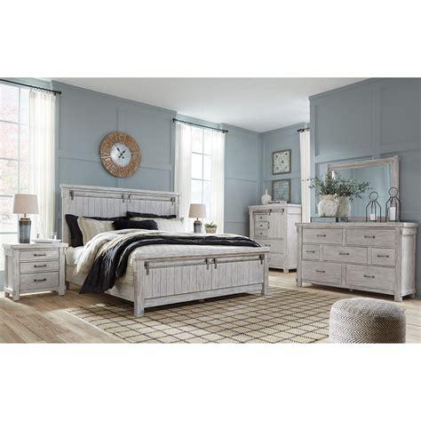 signature design  ashley brashland queen bedroom group