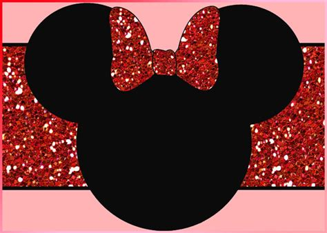 largest collection   minnie mouse invitation templates part